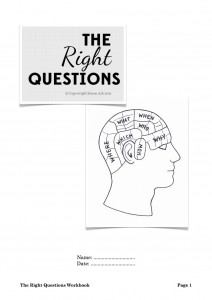 The Right Questions Free Workbook